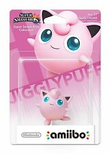Nintendo Amiibo Super Smash Bros Jigglypuff Character Wii U 3DS New And Sealed
