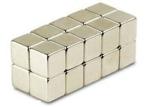 25pcs 5mm Cube N50 Super Strong Rare Earth Neodymium Magnets Model Craft