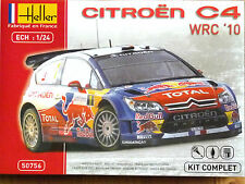 Heller 1:24 Citroen C4 WRC 2010 Loeb/Elena Rally Car Model Complete Kit