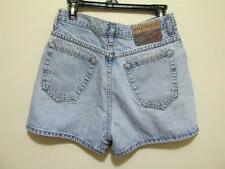 Vintage 90s HOLLYWOOD JEANS High Rise denim blue Jean SHORTS M 30 waist