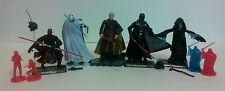 STAR WARS loose lot of 5 SITH LORD Figures, Vader,Emperor,Maul,Dooku & Grievous