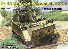 20335/ Squadron Signal - Walk Around 15 -  M113 Personnel Carrier - TOPP HEFT