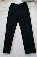 Versace 'Medusa Head' Jeans : Couture Black, Hi Waisted Stone Wash Jeans 30/44