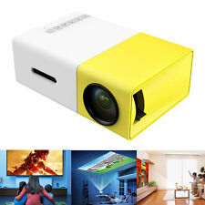 Mini Portable projector Multimedia Pocket Projector Home Theater AV/USB/HDMI