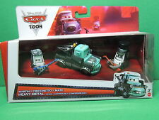 Rocky Eddie pitties Heavy Metal Mater Pack Cars toon Pixar Disney Diecast Mattel