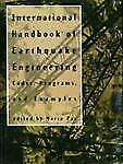 International Handbook of Earthquake Engineering: Codes, Programs, and Examples