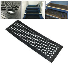 Heavy duty rubber stair treads step mats covers outdoor and indoor none slip