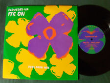 """FLOWERED UP: It's on (feel pain mix) - 25 cm 10"""" ONE SIDED EP - HEAVENLY UK"""