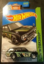 Hot Wheels CUSTOM '71 Datsun Bluebird Wagon with Real Riders Kmart