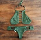 Women Sexy Bandage Bikini Set Bra Triangle Beachwear Swimsuit Swimwear UK 6-14