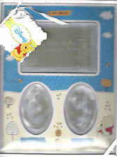 Winnie the Pooh Picture Frame W/Hand & Foot Print, By Cudlie Accessories, New