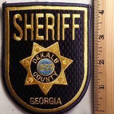 DEKALB COUNTY GEORGIA SHERIFF PATCH (HIGHWAY PATROL, SHERIFF, EMS)