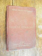 Code de commerce 1931 / Petite collection Dalloz