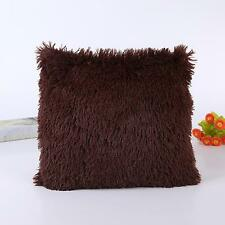 Soft Confortable Pillow Case Sofa Waist Throw Cushion Cover Case Home Decoration