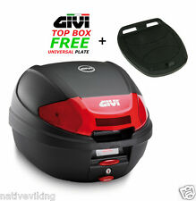 GIVI E300 N2 TOP BOX case NEW MODEL FREE Z113C Universal MONOLOCK Fitting Plate