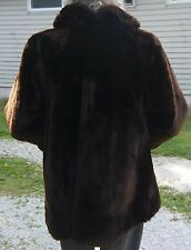Ladies Brown Fur Jacket w/Cuffs & Collar by Richard-Donald Furs of Delaware