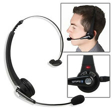 Wireless Bluetooth Headset Headphone with Mic For PS3 Cell Phones Computer Uniqu