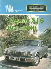 JAGUAR XJ6 SALOON COUPE SERIES III & III ( 1973 - 1980 ) PERIOD ROAD TESTS BOOK