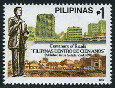"Philippines 2041,MI 2004,MNH.Rizal's ""Philippines after 100 Years"",cent. 1990"