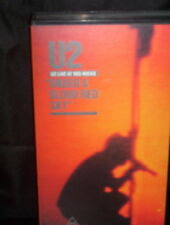 U2 UNDER A BLOOD RED SKY - VHS VIDEO