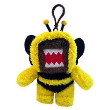 License 2 Play - Plush Stuffed Toy - BUMBLE BEE DOMO (Key Clip - 5 inch) - New