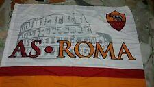 1 bandiera ufficiale As Roma 140x100 Totti Dzeko Colosseo De Rossi official flag