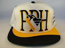 NHL Pittsburgh Penguins Vintage Snapback Hat Cap Twins Enterprise