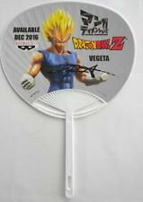 SIGNED Anime Expo 2016 DRAGON BALL Z  VEGETA Promotional Fan CHRISTOPHER SABAT