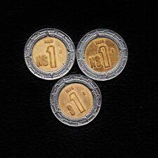 (Ʒ) 1 Peso Mexico 1993-1994 & 1996 -Ship 50Ȼ Per item Added