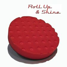 "Lake Country CCS Red Ultra Soft Wax / Sealant Pad 6.5"" 160mm DAS6 G220 DA Rotary"