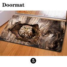 Cool Owl Personalized Floor Funny Doormat Carpet Rug Outdoor Bedroom Kitchen