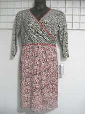 London Times Size 14 Petite Dress in Animal Print ~ New with Tag Retail $70