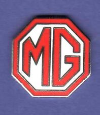 MG AUTO HAT PIN LAPEL PIN TIE TAC ENAMEL BADGE #1724 RED