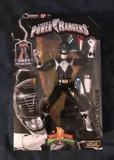 POWER RANGERS LEGACY COLLECTION BLACK RANGER SABANS BUILD A MEGA ZORD  2016