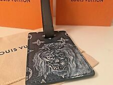 """Louis Vuitton """"Lion"""" Limited Edition Chapman Brothers Luggage Tag SOLD OUT"""