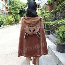 Pokemon Eevee Cotton Cape Cloak Clothing Costume 82cm x 132cm Cosplay #133