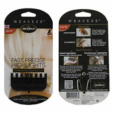 Denman Weaveze Hairdressing Comb Colouring & Highlighting Hair Weave eze weave