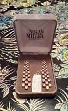 "NOLAN MILLER GLAMOUR COLLECTION ""REVOLUTIONARY CRYSTAL EARRINGS"" GORGEOUS!!"