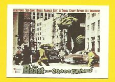 The Beast From 20,000 Fathoms Ackerman Science Fiction Movie Card