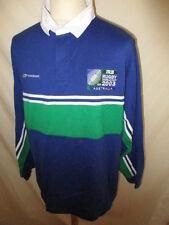 Maillot de rugby coupe du monde Australie Reebok vintage 2003 Taille XL