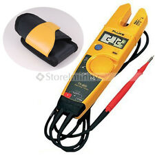 FLUKE T5-600 Continuity Current Electrical Tester with Holster Free Shipping