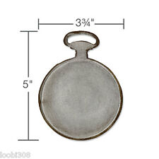 SIZZIX / TIM HOLTZ MOVERS & SHAPERS CUTTING DIE - POCKET WATCH 658571