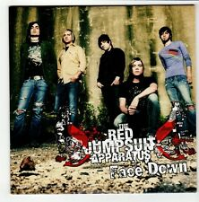 (GO558) The Red Jumpsuit Apparatus, Face Down - 2007 DJ CD