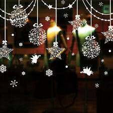 Christmas Snowflake Ball Show Window Removable Home Vinyl Sticker Decal Decor