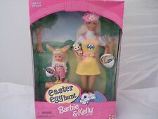 1997 Easter Egg Hunt Barbie and Kelly Gift Set Special Edition  -  NRFB !!