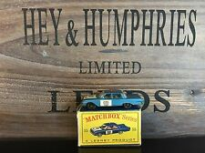 matchbox regular wheels no.55B-4.Version near mint D-3 Box from 1964