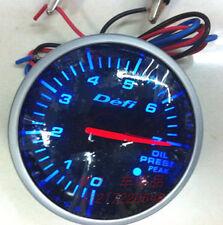 Brand New DEFI Oil Pressure  Gauge Defi link Meter BF Blue