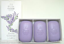 Woods of Windsor Lavender 3 x 100g perfumed Soap/Seife Neu OVP