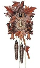 (New!) 30-Hour Cuckoo Clock with Squirrels by Anton Schneider 89/11