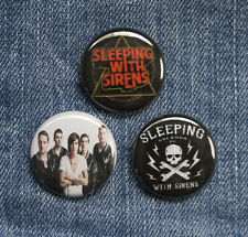 "3 1"" Sleeping with Sirens pinback badges buttons"